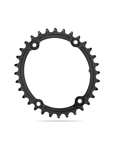 AbsoluteBlack Gravel Sub Compact Oval Road 110x4 Inner Chainring