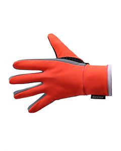 Santini Vega Acquazero Winter Gloves Orange