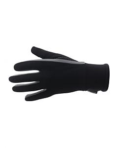 Santini Vega Acquazero Winter Gloves Black