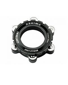 Ashima AC03-2 Center Lock Disk / 6 Hole TA Brake Rotor Adapter
