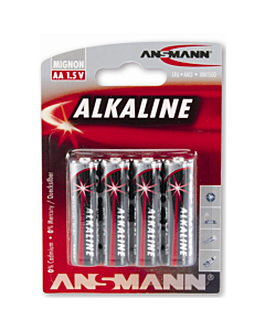 1.5v AA Alkaline Battery Set (x4)