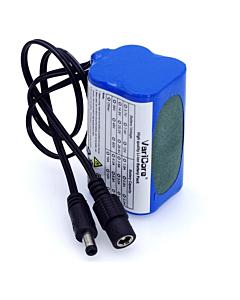 Batteria Alta Capacità  5200 mAh per Fanale a LED CREE
