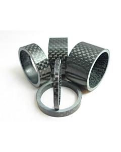 """Gambacicli Distanziale Carbonio 1""""1/8 (3mm)"""