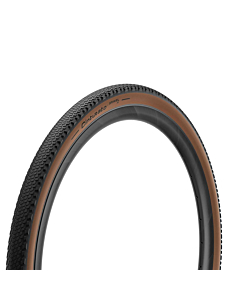 Pirelli Cinturato Gravel H 650B Tire Black / Brown
