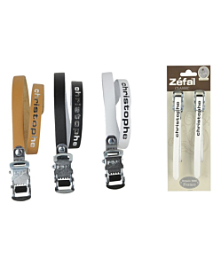 Zefal Couple of Leather Toe Clip Straps