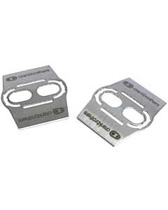 Crank Brothers Shoe Shields Silver