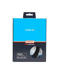 Elvedes Shift Cable + Sheath Color Kit
