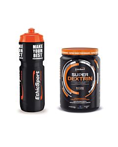 EthicSport Super Dextrine 700g Jar + Sport Bottle for Free