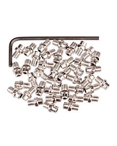 Exustar Pin di Ricambio 4mm per Pedali Flat - Silver