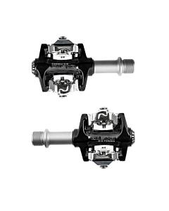 Exustar E-PM215 Black Pedali MTB