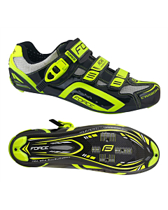 Force Cycling Shoes Road Carbon Race Fluo