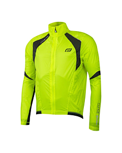 Force X53 Windproof Jacket Yellow Fluo