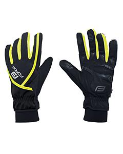 Force Ultra Tech Winter Gloves Yellow Fluo