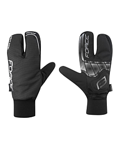Force Hot Rak 3 Fingers Winter Gloves
