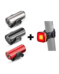 Raypal Front + Rear Led Light Bicycle Kit