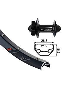 """GMB XLC / Rodi Blackrock MTB 26"""" Disc Front Wheel 15x100mm"""