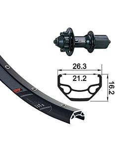 "GMB XLC / Rodi Blackrock MTB 27,5"" Disc Rear Wheel"