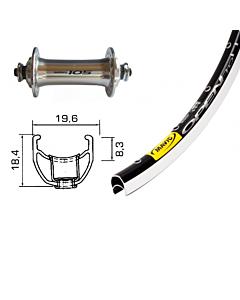 GMB 105 / Mavic Open Pro Road Front Wheel