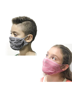 Bacteriostatic and Water Repellent Filter Mask for Children