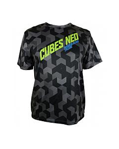 Haven Cubes Neo Short Sleeve MTB Jersey Black / Green