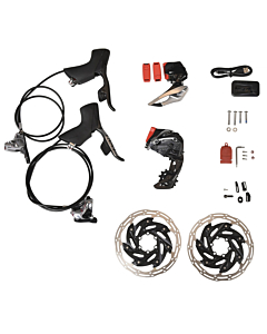 Sram Red eTap AXS HRD 6-bolt I.S. Upgrade Kit 2x12s