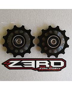 Zerofactory Kuro Plus Pulley Kit for SRAM 12T  RED / ETAP