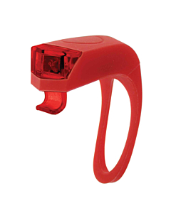 """""""Girino"""" Flash Silicone Double LED Rear Red"""