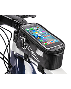 M-Wave Rotterdam Top L Top Tube Bag with Smartphone Case