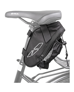 M-Wave Amsterdam Saddle Bag with Bottle Cage