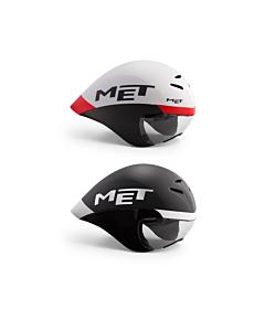 MET Drone Wide Body Casco Time Trial / Triathlon 2021