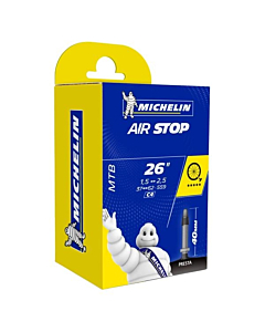 Michelin AirStop Butyl C4 26x1.45/2.60 Presta Valve 40mm MTB Tube