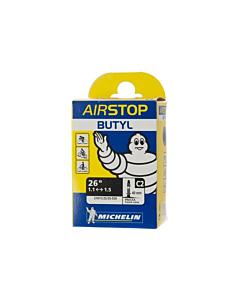 Michelin AirStop Butyl C2 26x1.10/1.35 Presta Valve 40mm MTB Tube