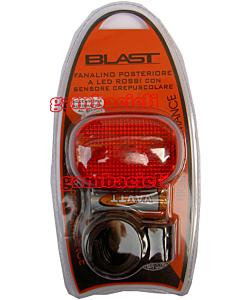 Blast Fanalino Posteriore 3 Led con Sensore Crepuscolare