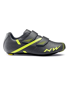 Northwave Jet 2 Road Shoes Anthracite / Yellow Fluo