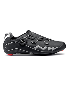 Northwave Flash TH Black Winter Road Shoes