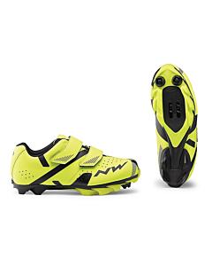 Northwave Hammer 2 Junior MTB Shoes Black / Yellow