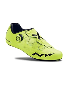 Northwave Extreme RR Road Shoes Yellow Fluo