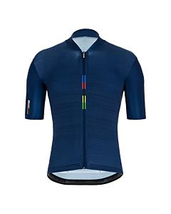 Santini Official UCI Raimbow Jersey