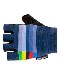 Santini UCI Rainbow Gloves