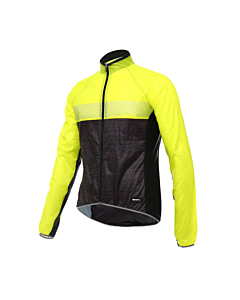 Santini SKIN Windproof Jacket Yellow Fluo