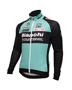 Santini Team Bianchi Countervail Winter Jacket