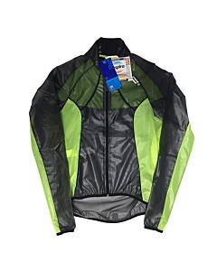 Santini Ice Respira Windproof Jacket Black / Yellow