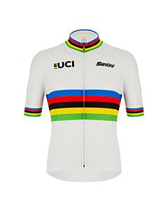 Santini UCI World Champion Short Sleeve Jersey