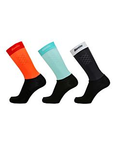 Santini 365 PRLX Primaloft Winter Socks Grey