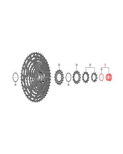 Shimano XTR CS-M9100 Lock Ring & Spacer