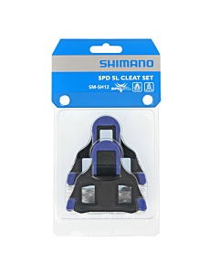 Shimano SM-SH12 SPD-SL Tacchette Pedali Corsa Blu 2°