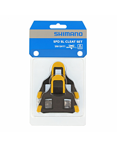 Shimano SM-SH11 SPD-SL Tacchette Pedali Corsa Giallo 6°