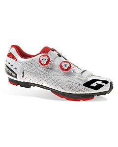 Gaerne G.Sincro White-Red MTB Shoes