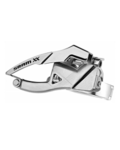 Sram XX 2x10s Low Clamp Down Pull Front Derailleur