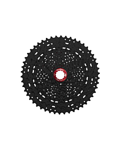 SunRace MX80 Black Cassetta Pignoni 11v 11-50T (42-50 Alu)